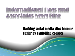 Hacking social media sites become easier by exploiting cooki