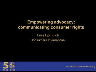 Empowering advocacy: communicating consumer rights