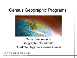 Census Geographic Programs