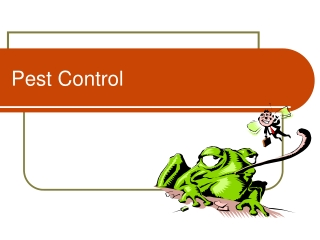 PEST CONTROL FOR COMMERCIAL SERVICES