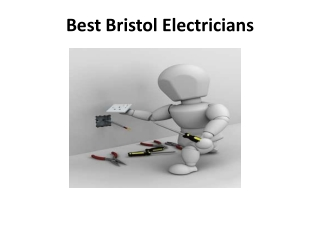 Best Bristol Electricians