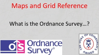 Maps and Grid Reference
