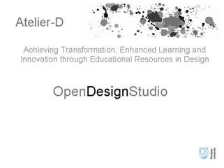 Demonstration of The OpenDesignStudio
