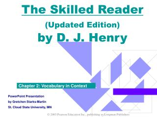 The Skilled Reader Updated Edition