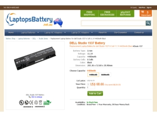 How to Identify an Original Dell Studio 1537 Battery-www.lap