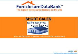 How to Short Sell Real Estate: Avoid Foreclosure and Bankrup