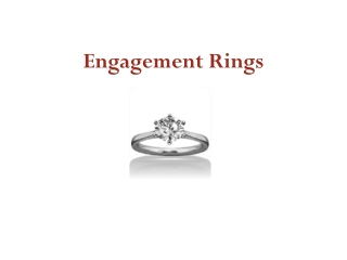 Beautiful Engagement Rings by Diamonds Factory