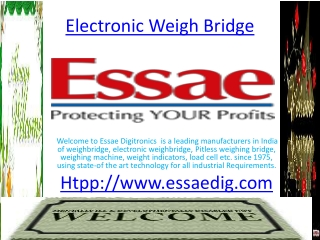 Saviour| Ecodek| Weigh Bridge Software| Rail Sensors