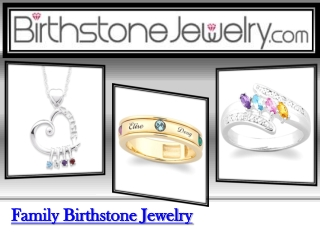 Mothers Birthstone Jewelry