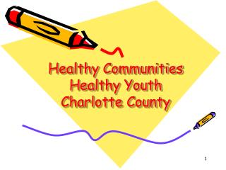 Healthy Communities Healthy Youth Charlotte County