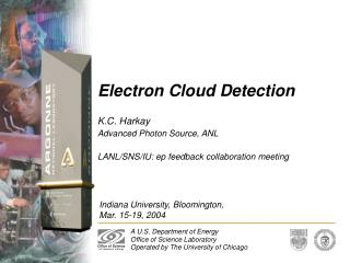 Electron Cloud Detection