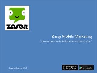 Zasqr, tutorial