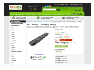 Dell Vostro 1710 Battery Buying Tips You'd Better Know