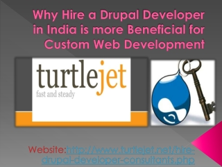 Why Hire a Drupal Developer in India is more beneficial for