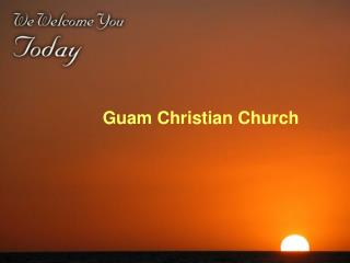 Guam Christian Church