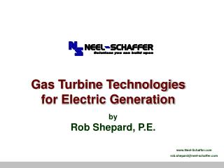 Gas Turbine Technologies for Electric Generation