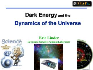 Dark Energy  and the Dynamics of the Universe