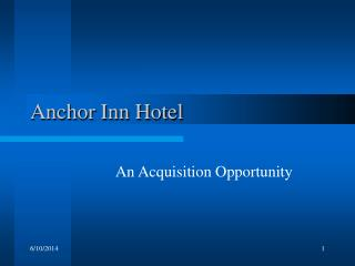 Anchor Inn Hotel