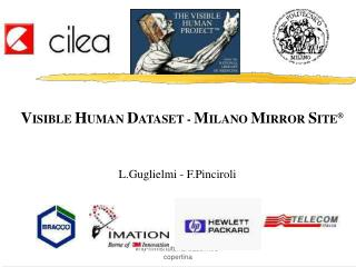 Visible Human Dataset - Milano Mirror Site an introduction to VHD