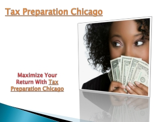 Tax Preparation Chicago