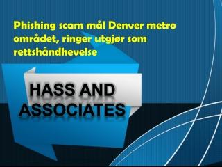 Phishing scam mål Denver metro området, ringer utgjør som re
