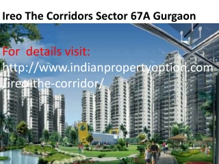 Ireo The Corridors Sector 67A Gurgaon