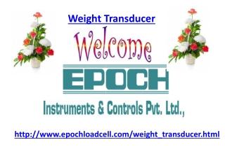 weight Transducer