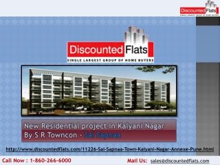 Buy your Dream Home at Kalyani Nagar - Sai Sapnaa