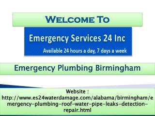 Emergency Plumbing Birmingham