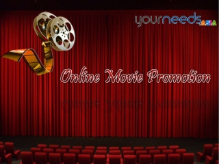 Website Design Company for Movie Promotion UK