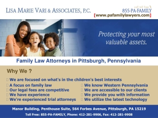 Child Support Attorneys Pennsylvania