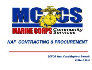 Ray Collard Contracting Officer MCCS Marine Corps Air Station  Yuma, AZ Mailing Address: MCAS PO Box 99119 MCAS Bldg. #