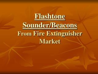 Flashtone Sounder Beacons