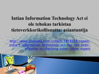 Abney Associates Infotech Cyber Warning: Intian Information