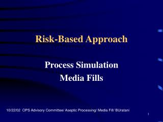 Risk-Based Approach