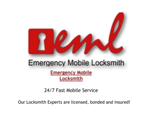 Emergency Mobile Locksmith Services