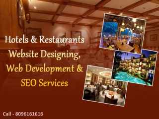Hotels Website Designing Company New York | India