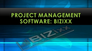 Project Management Software: BIZixx