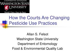 How the Courts Are Changing Pesticide Use Practices