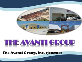 The Avanti Group, Inc.-tjenester