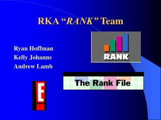 "RKA "" RANK""  Team"
