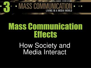 Mass Communication Effects