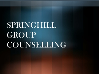 Springhill Group Counselling - Symptoms of Compulsive Eating