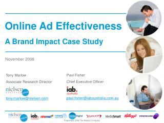 Paul Fisher Chief Executive Officer paul.fisher@iabaustralia.com.au