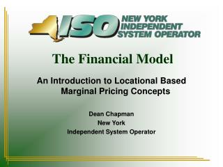 The Financial Model