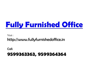 furnished offices in gurgaon call 9599363363