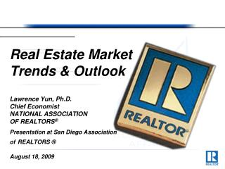 Real Estate Market Trends & Outlook