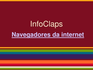 Navegadores da internet