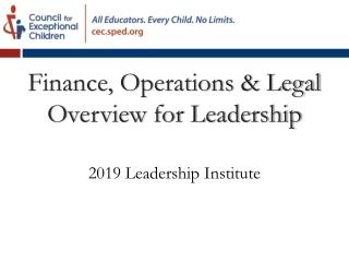 2019 Leadership Institute