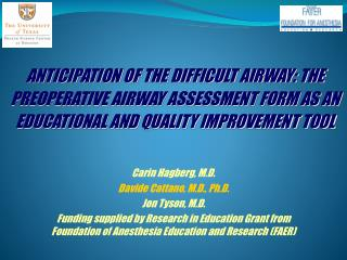The complete Airway Physical 11 Predictive Factors